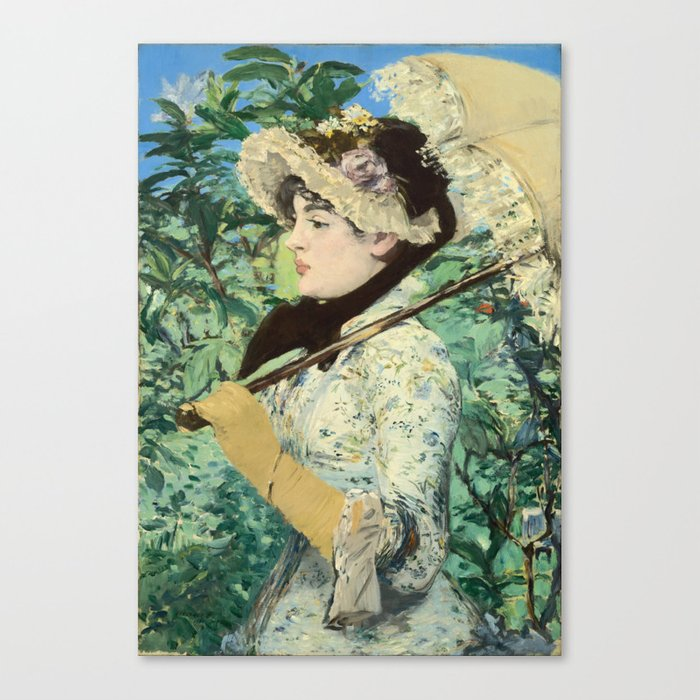 Manet's Jeanne Canvas Print
