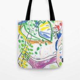Y-front Garden Tote Bag