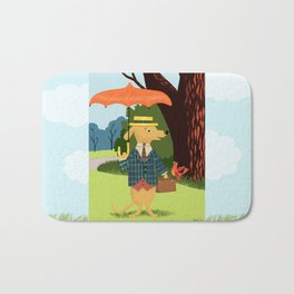 Mister Barkly Goes To The Park Bath Mat