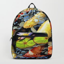 Koi & Waterlilies Backpack
