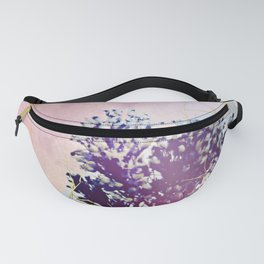 Flower collage Fanny Pack