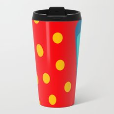 Red Fish illustration for kids Travel Mug