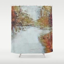 """"""" Fall In The Country """" Shower Curtain"""