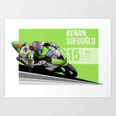 Kenan Sofuoglu - 2015 Imola Art Print