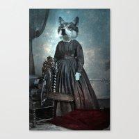 dexter Canvas Prints featuring Dexter by ppatphoto