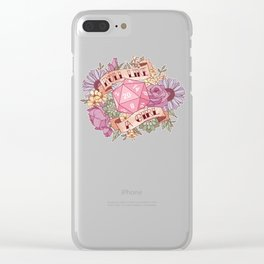 Roll Like a Girl Clear iPhone Case