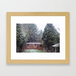 Neve em Londres - 5 Framed Art Print
