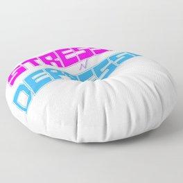 STRESSED n DEPRESSED Floor Pillow