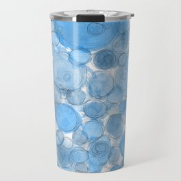 Water Drops Travel Mug