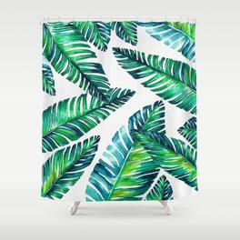 Live tropical I Shower Curtain