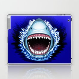 Shark Jaws Attack Laptop & iPad Skin