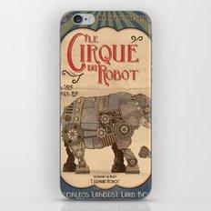 Robot Circus - Elephant iPhone & iPod Skin