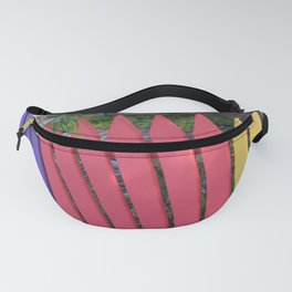 Rainbow Picket Fanny Pack