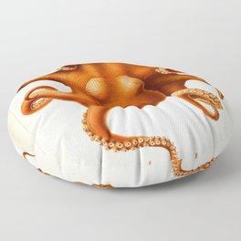 Octopus Cephalopod 1915 Floor Pillow