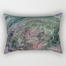 'The Crystal Ship' by Angelique G. Rectangular Pillow