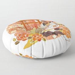Takashi Natsume, Quiet Flowers Floor Pillow