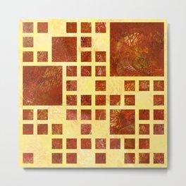 Nemissos V1 - painted squares Metal Print