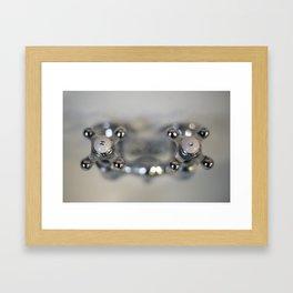 Bath Fixtures Framed Art Print