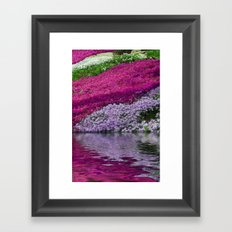 A Colorful River Framed Art Print
