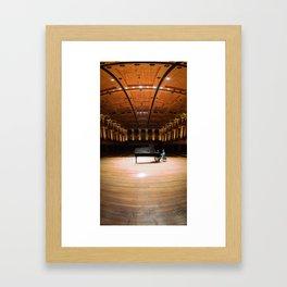 Concert Hall Framed Art Print