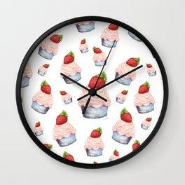 Cupcake Dream Wall Clock