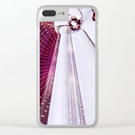 Hibiscus Across Time And Space Clear iPhone Case
