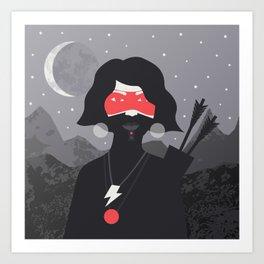 Midnight Archer Kunstdrucke