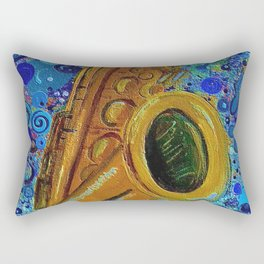 Saxophone  Rectangular Pillow