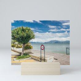 Garda Lake Mini Art Print