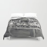 carousel Duvet Covers featuring Carousel by Ibbanez