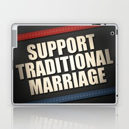Support Traditional Marriage Laptop & iPad Skin