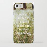 future iPhone & iPod Cases featuring Future by Nina Sinitskaya