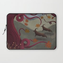 Bright Sentinels Patrol the Caerffyddin Hills Laptop Sleeve