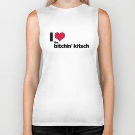 I Heart The Bitchin' Kitsch Biker Tank