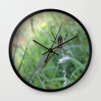 writer Wall Clocks featuring I'm a Writer by Lost Dove