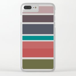 Cooling Summer Clear iPhone Case