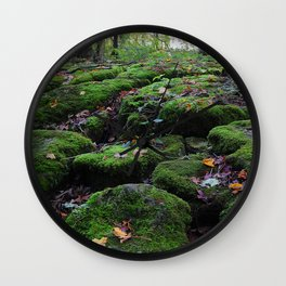 Adventure in the forest Wall Clock