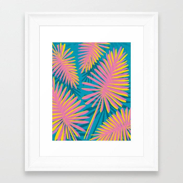 Bright Tropicals Framed Art Print