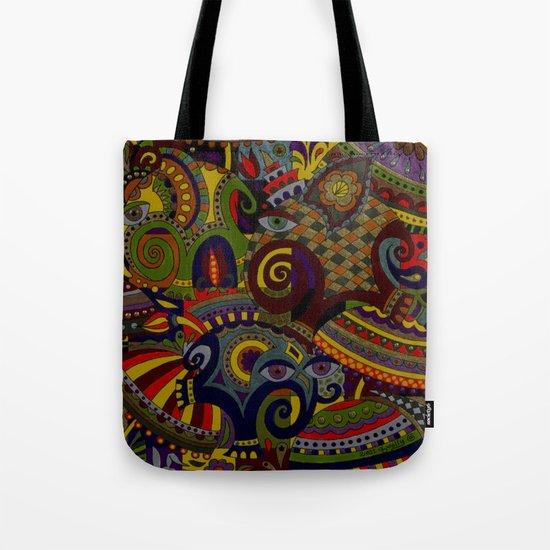Silk and Elephants Tote Bag