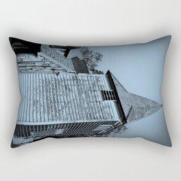 Greensted Church Art Rectangular Pillow
