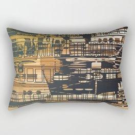 Density / Urban Rectangular Pillow