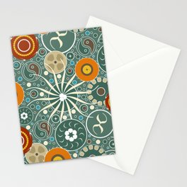 Magical Microscopic Forest Floor Stationery Cards