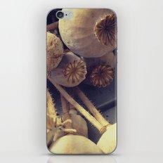 poppy pods iPhone & iPod Skin