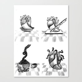 Cooking actions /2/ Canvas Print