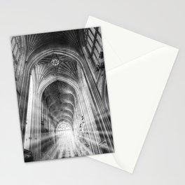 Bath Abbey Sun Rays Stationery Cards