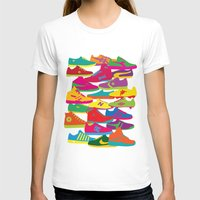 sneakers T-shirts featuring Sneakers by Glen Gould