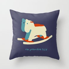 2 cv Throw Pillow