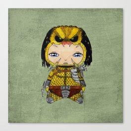 A Boy - Predator Canvas Print