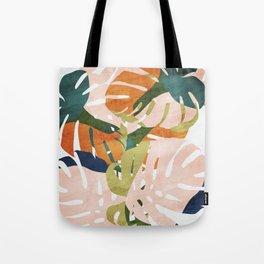Monstera delight Tote Bag