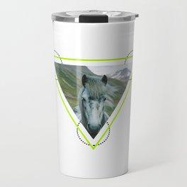 Equus caballus Travel Mug